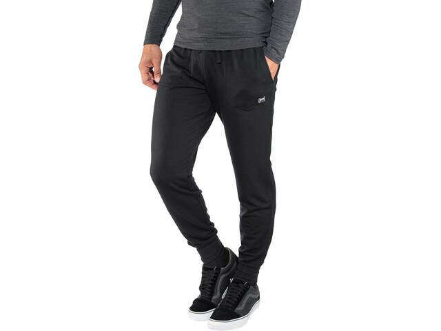 super.natural Essential Pantalones Hombre, jet black
